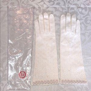 Vintage Beaded Gloves